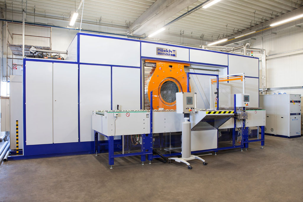 maszyna do odtłuszczania przemysłowego