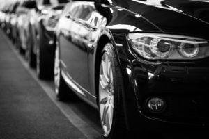samochody - linia produkcyjna