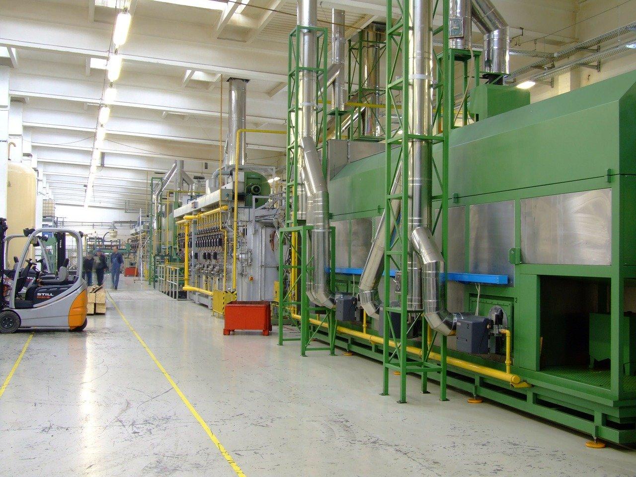 maszyny do obróbki cieplnej stali